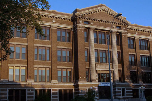 building-northeast-high-school