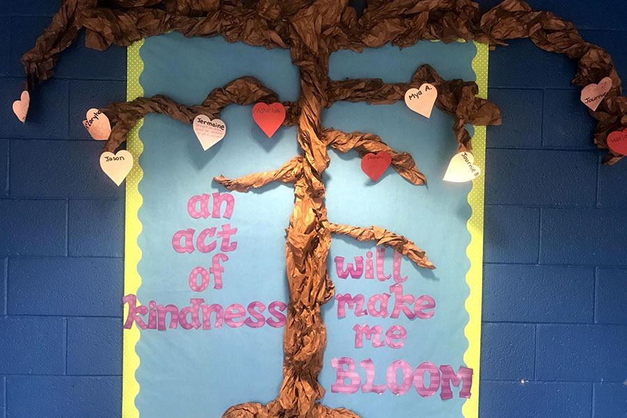 mural about kindness
