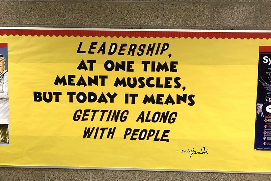 poster about leadership