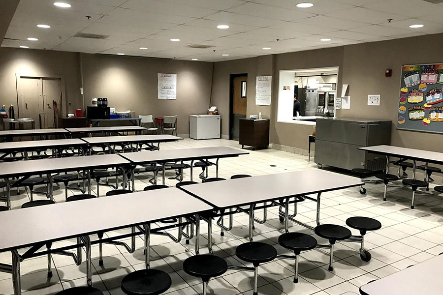 cafeteria for students