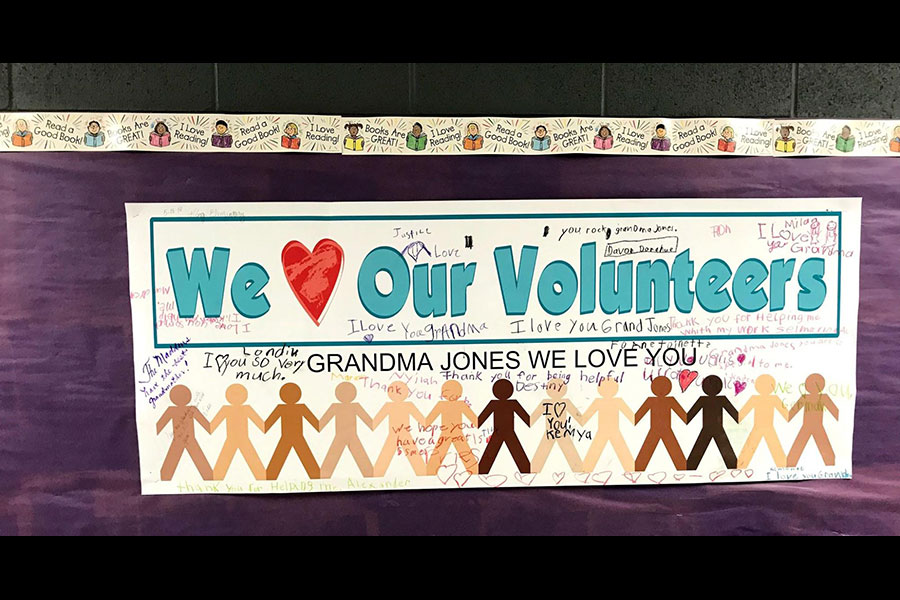 Volunteer thank you poster