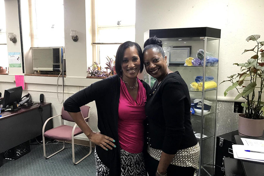 principal dr. laquanda carpenter and ms bowens