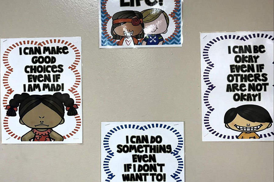 posters about expected school behavior