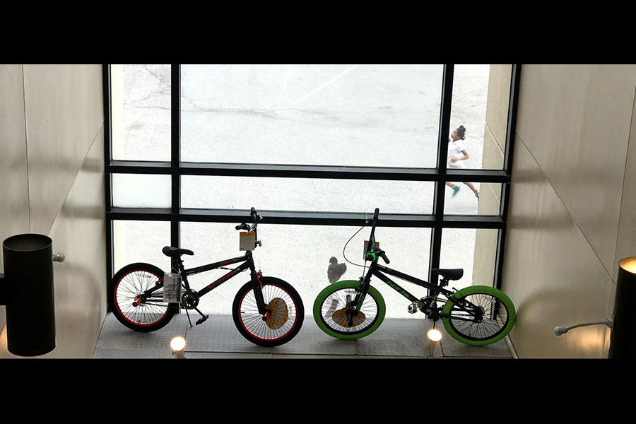 bicycles for drawing
