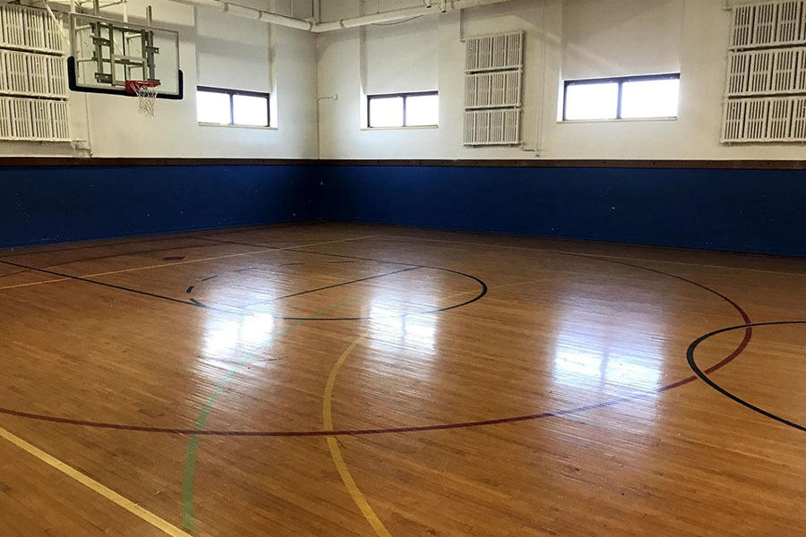 Longfellow School gym