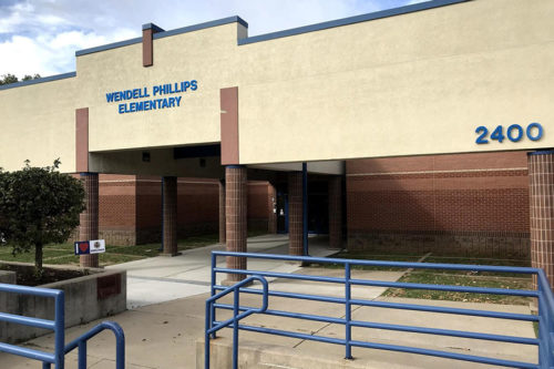 Wendell Phillips school building